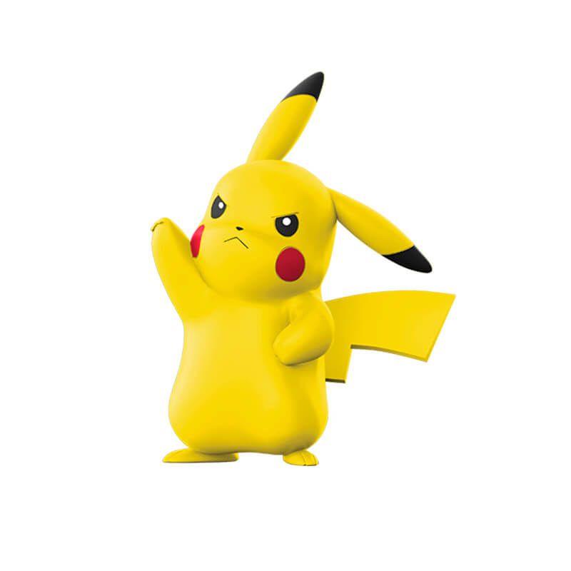 Boneco Pokémon Clip N Go - Poké Bola e Pikachu   WCT/DTC