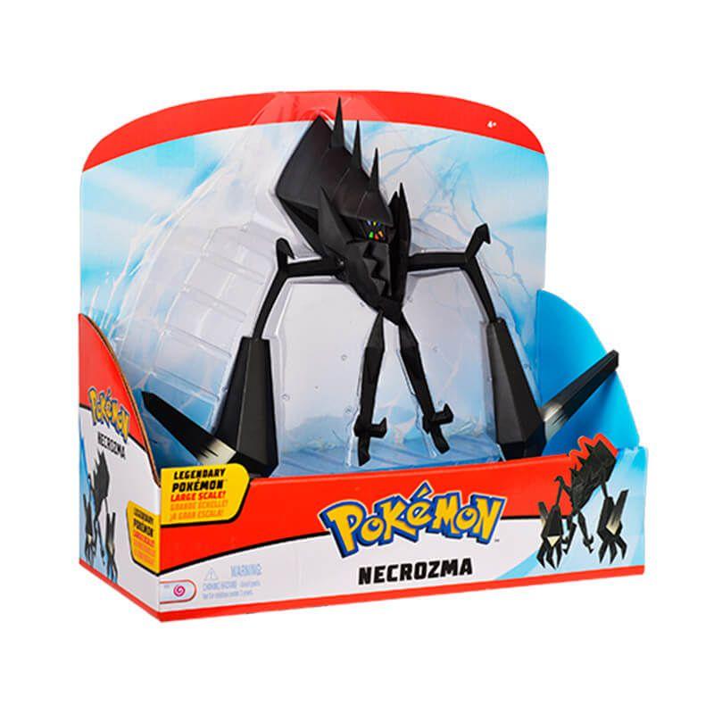 """Boneco Pokémon Legendary Figure 12"""" - Necrozma WCT/DTC + Carta Pokémon TCG: Necrozma GX (63/147) SM3 Sombras Ardentes"""