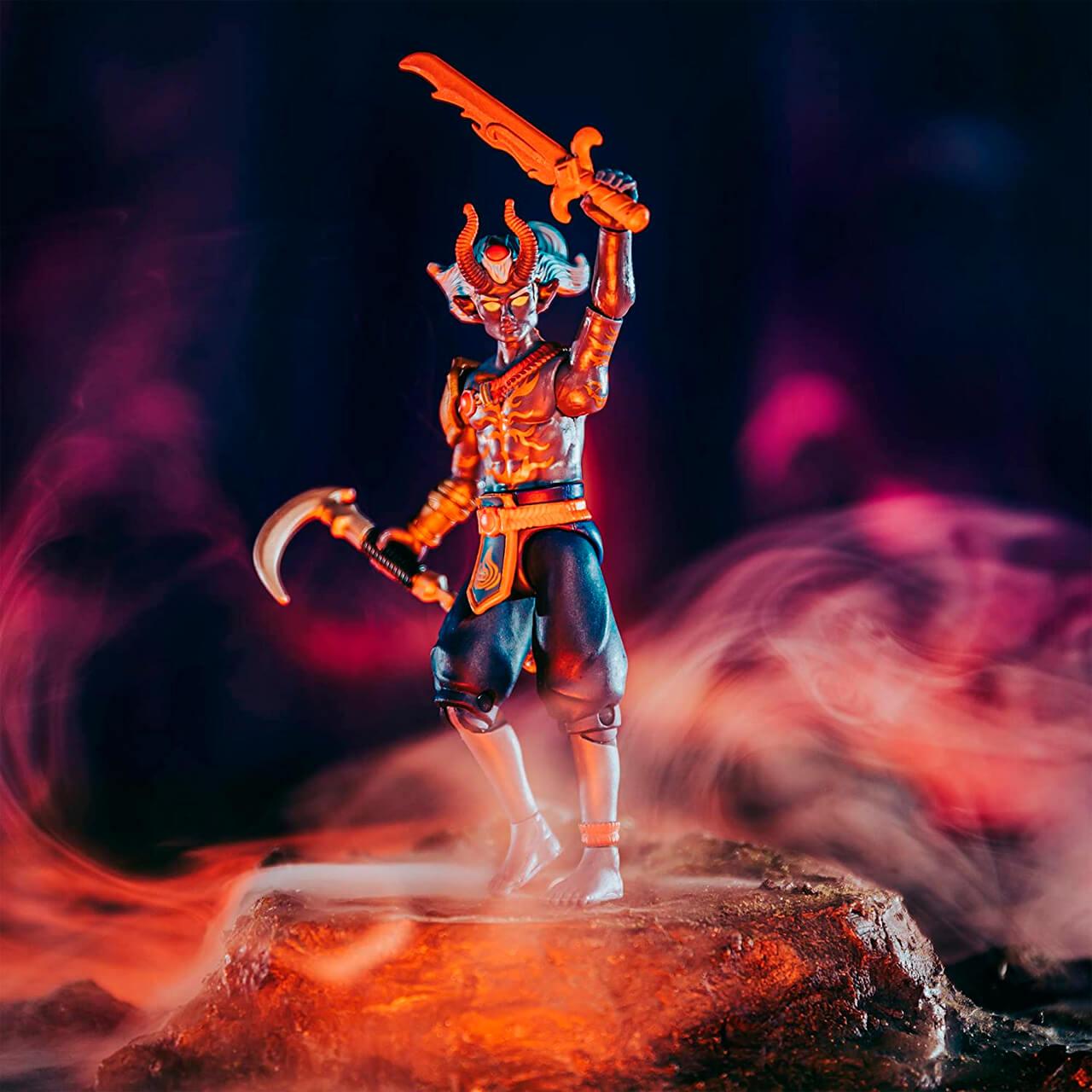 Boneco Roblox Imagination Collection - Bec The Fire God   Jazwares