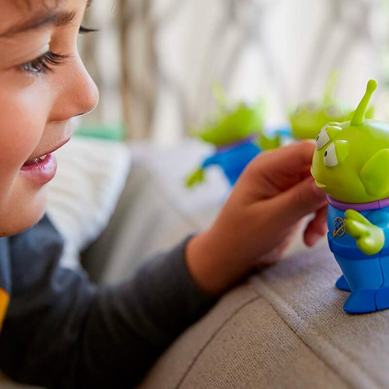 Boneco Articulado Toy Story - Aliens do Espaço| Mattel/Disney Pixar