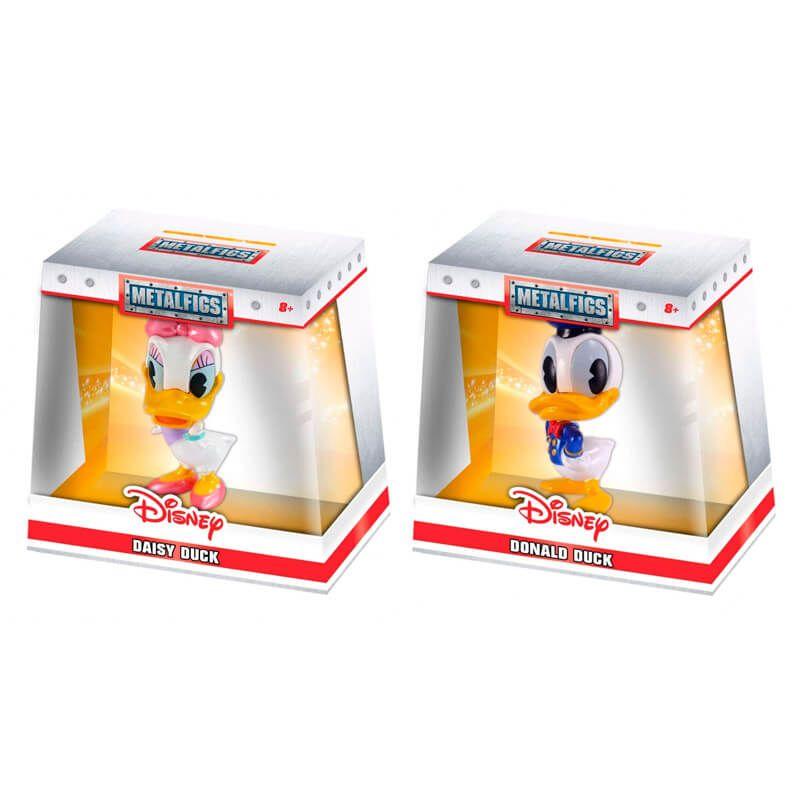 "Bonecos MetalFigs 2,5"" - Donald e Daisy Duck | Jada/Disney"