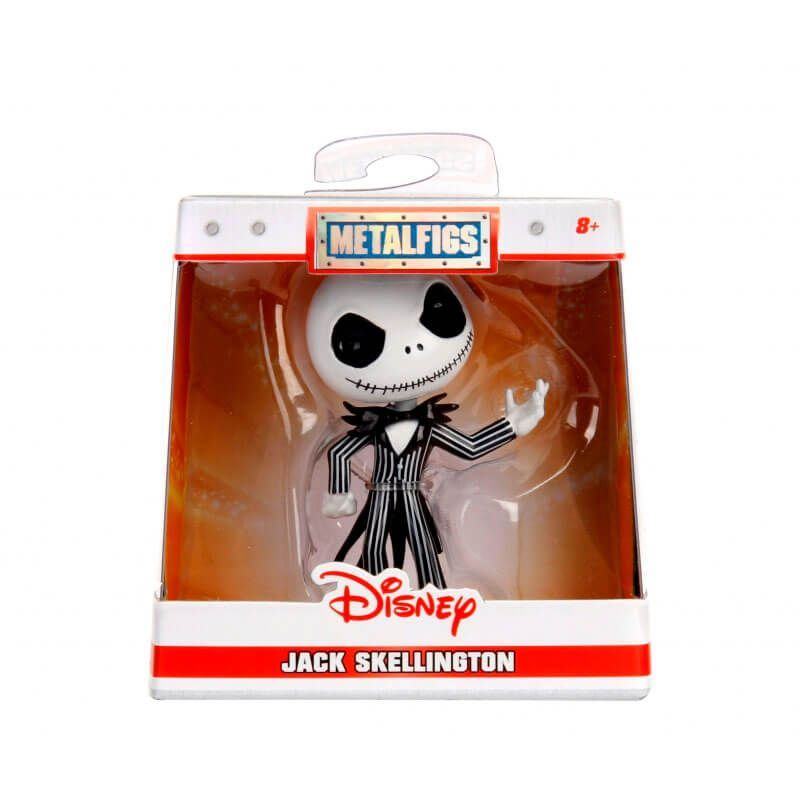 "Bonecos MetalFigs 2,5"" - Stitch + Jack Skellington + Donald e Daisy Duck  