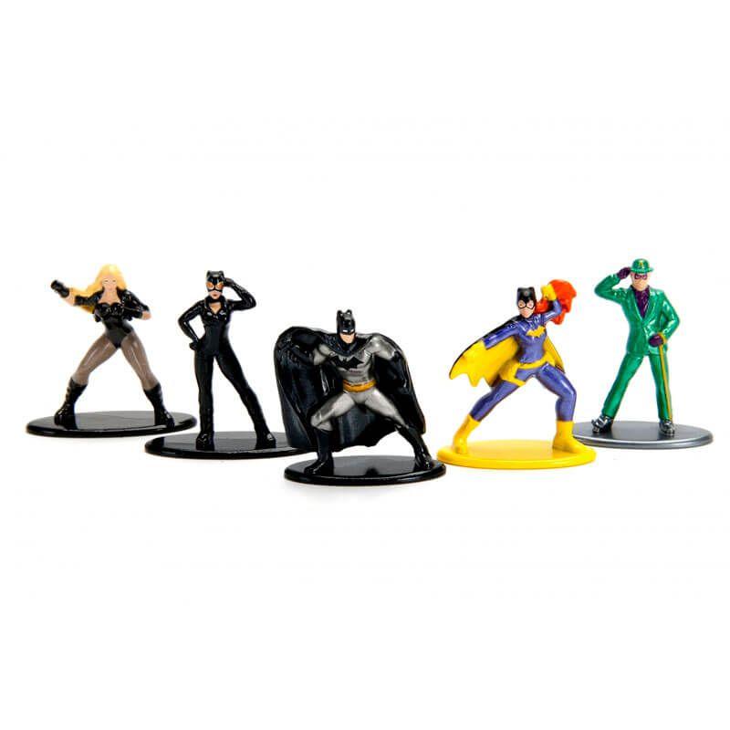 "Bonecos Nano MetalFigs 1,65"" - 5-Pack A DC | DC Comics"
