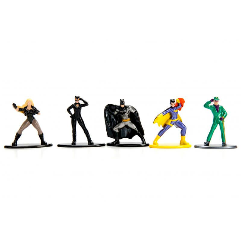 "Bonecos Nano MetalFigs 1,65"" - 5-Pack A DC 