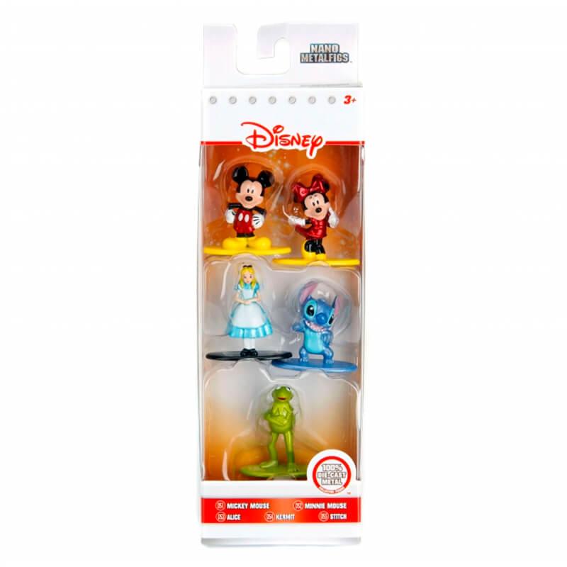 "Bonecos Nano MetalFigs 1,65"" - 5-Pack A Disney | Jada/Disney/Pixar"