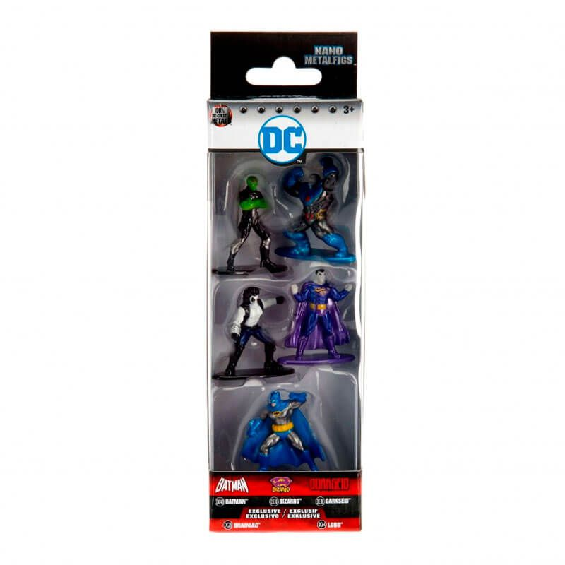 "Bonecos Nano MetalFigs 1,65"" - 5-Pack B DC | DC Comics"