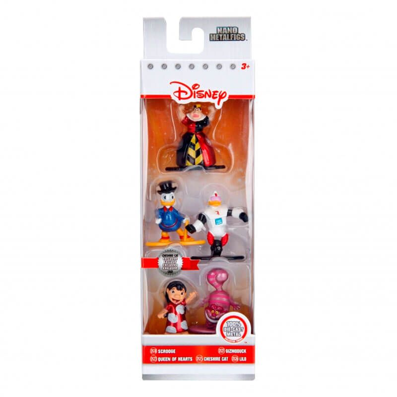 "Bonecos Nano MetalFigs 1,65"" - 5-Pack Disney   Jada/Disney/Pixar"