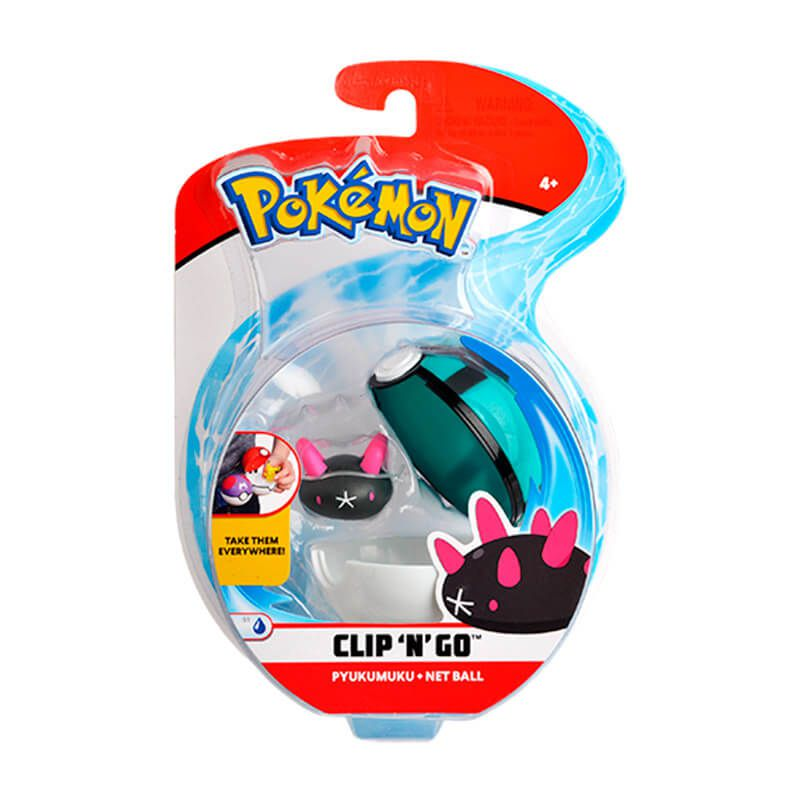 Bonecos Pokémon Clip N Go - Bolas + Pokémon | WCT/DTC