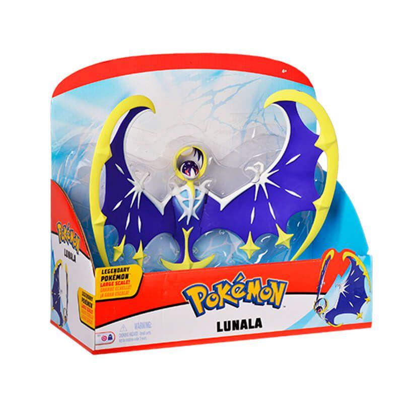 "Bonecos Pokémon Legendary Figure 12"" - Lunala + Necrozma | WCT/DTC"