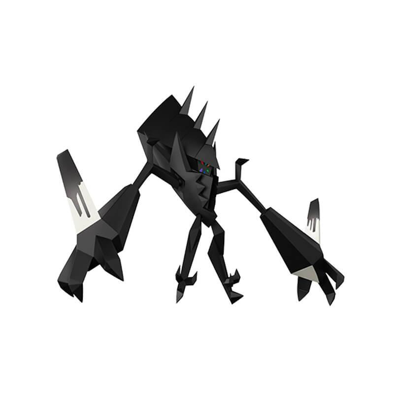 "Bonecos Pokémon Legendary Figure 12"" - Solgaleo + Necrozma | WCT/DTC"