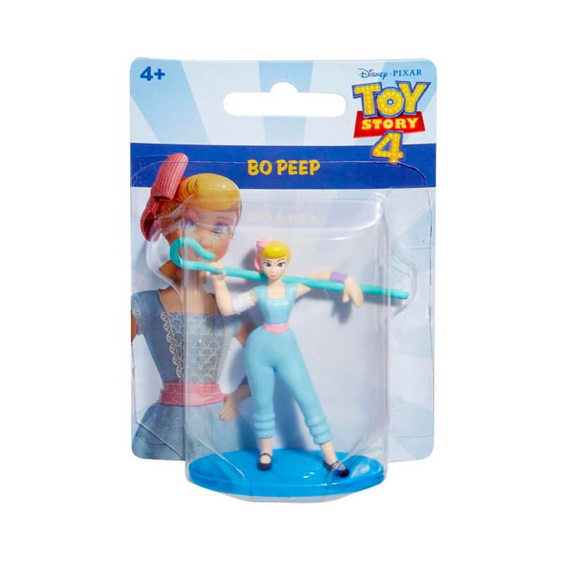 Bonecos Toy Story 4 Mini Figuras - Woody + Buzz Lightyear + Forky + Betty Bo Peep + Rex | Mattel/Disney Pixar