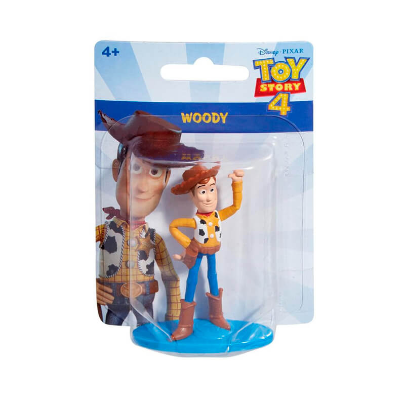Bonecos Toy Story 4 Mini Figuras - Woody + Buzz Lightyear | Mattel/Disney Pixar