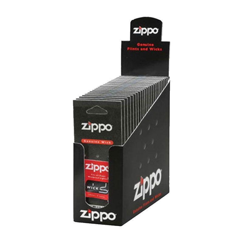 Box com 24 Cartelas de Pavio Genuíno Zippo 10 cm