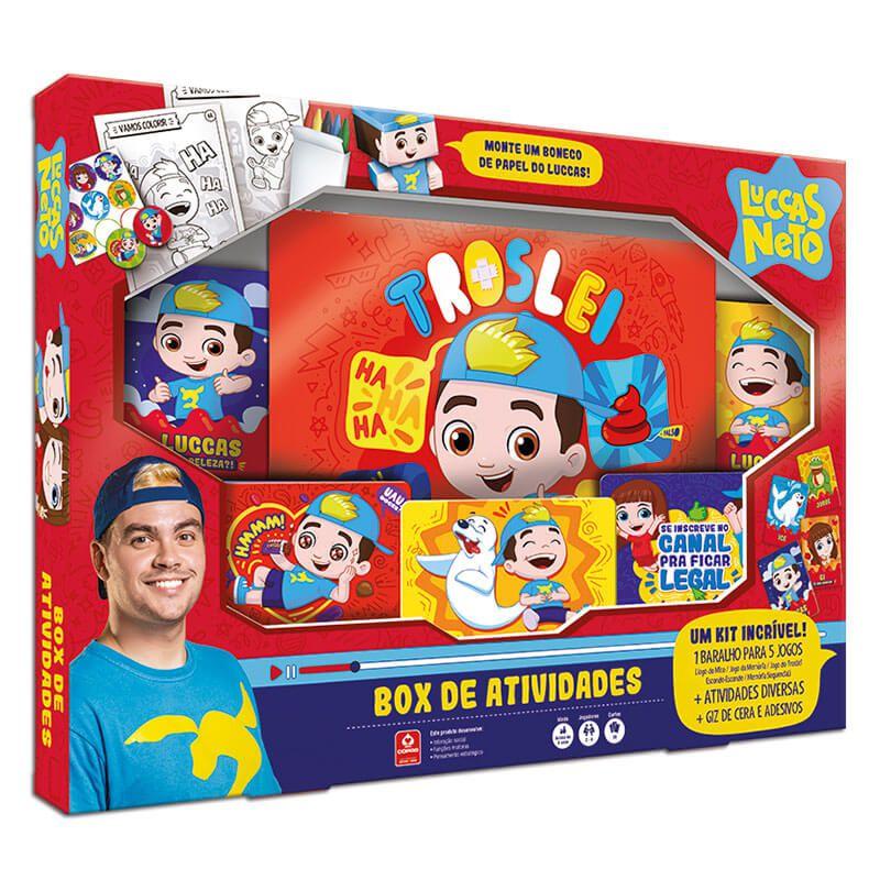Box de Atividades Luccas Neto - COPAG