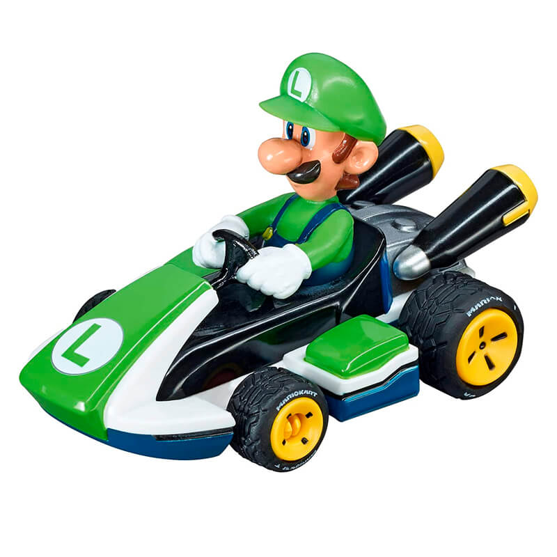 Carro Fricção Pull & Speed Mario Kart: Luigi - Standard Kart   Carrera