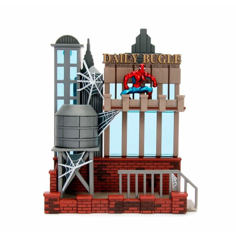 "Cenário Nano Scene - Daily Bugle + Boneco Nano MetalFigs 1,65"" Spider-Man | Jada/Marvel"