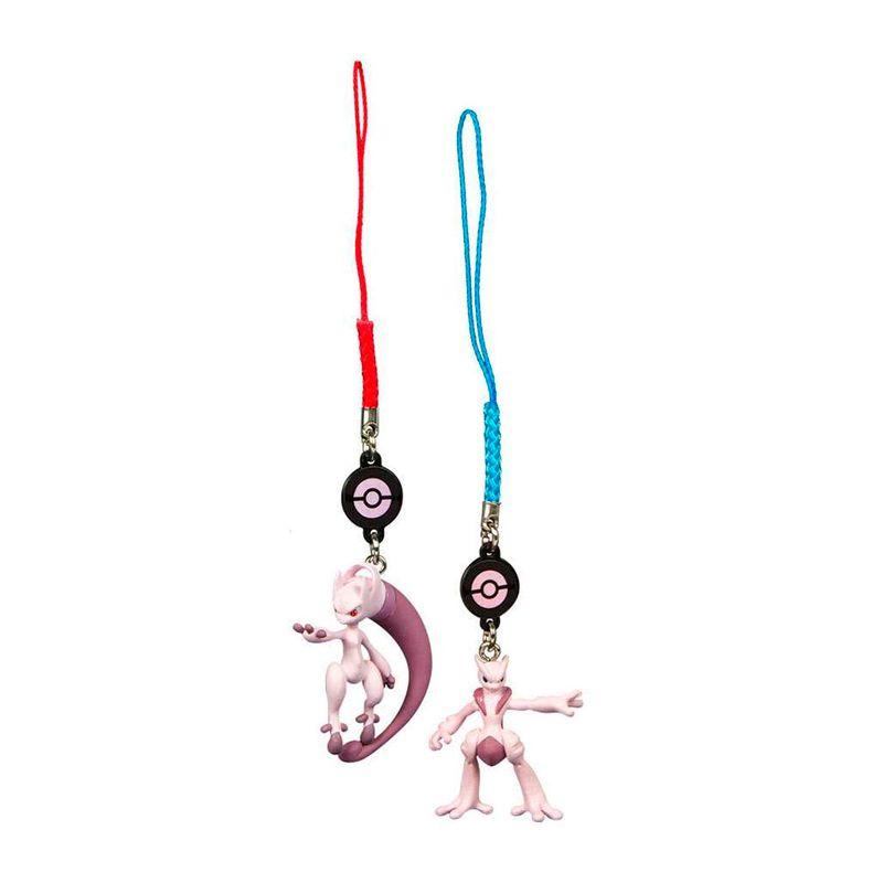 Chaveiros Pokémon - Mega Mewtwo X + Mega Mewtwo Y | TOMY/Sunny