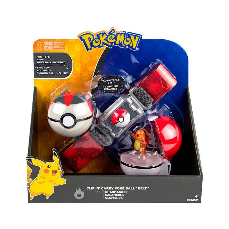 Cinto Pokémon Clip N' Carry com Pokébola + Charmander | TOMY/Sunny