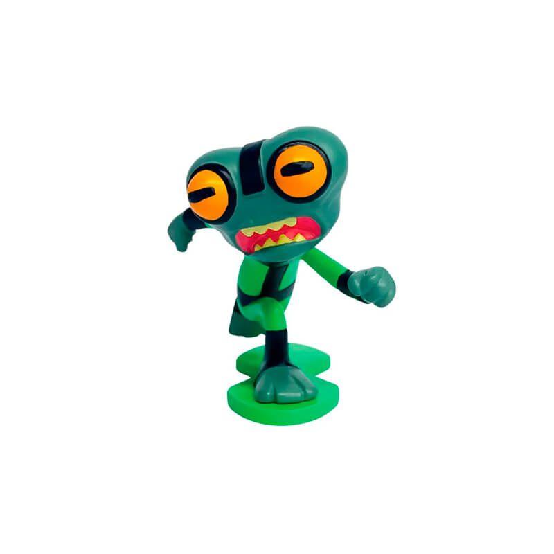 Combo Bonecos Ben 10 Mini Figuras - Ben Tennyson + Bala de Canhão + Insectóide + Massa Cinzenta | Playmates/Sunny
