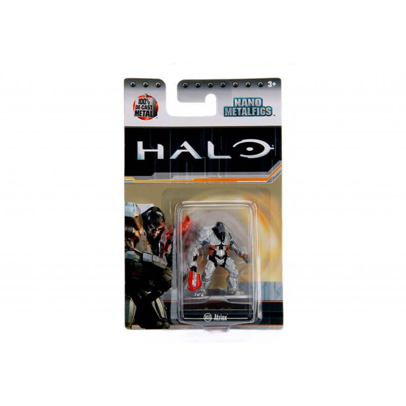 "Combo Bonecos Nano MetalFigs 1,65"" - Master Chief + Commander Palmer + Atriox + Jorge-052 | Jada/Microsoft - Halo"
