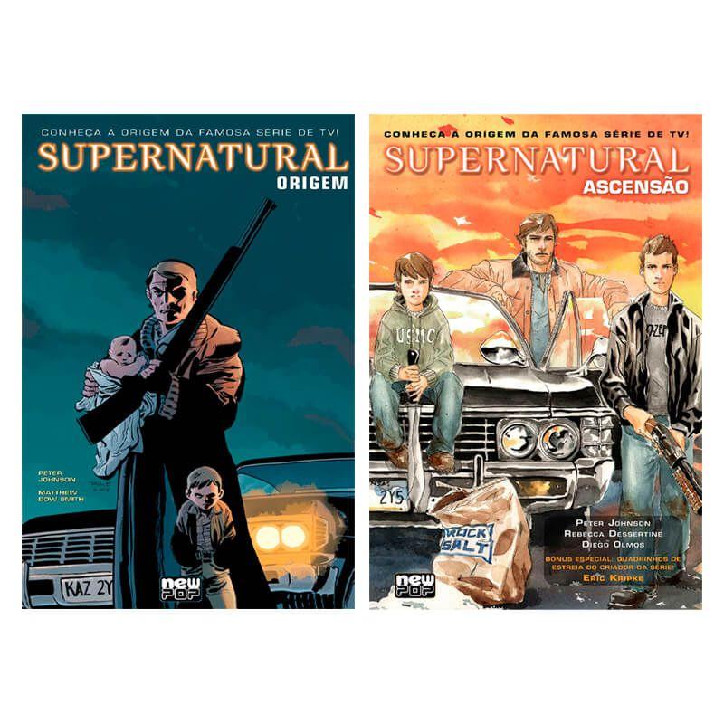 Combo HQ Supernatural: Origem + Supernatural: Ascensão