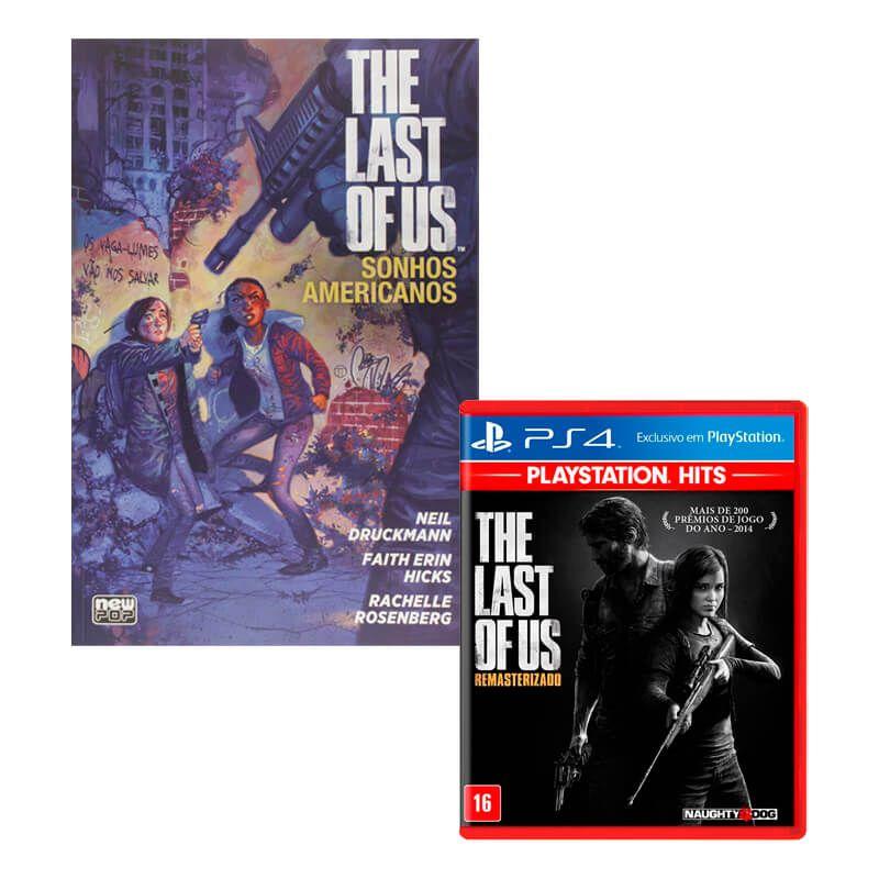 Combo Jogo The Last of Us: Remasterizado + HQ The Last of Us: Sonhos Americanos