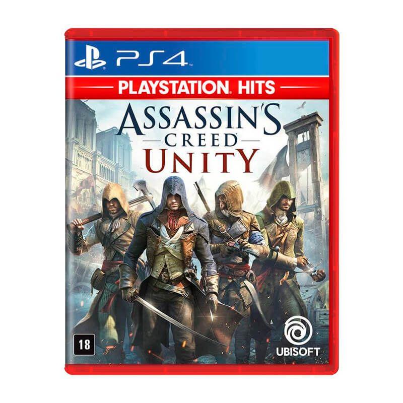 Combo Jogos Assassin's Creed IV Black Flag + Assassin's Creed: Syndicate + Assassin's Creed: Unity - PS4