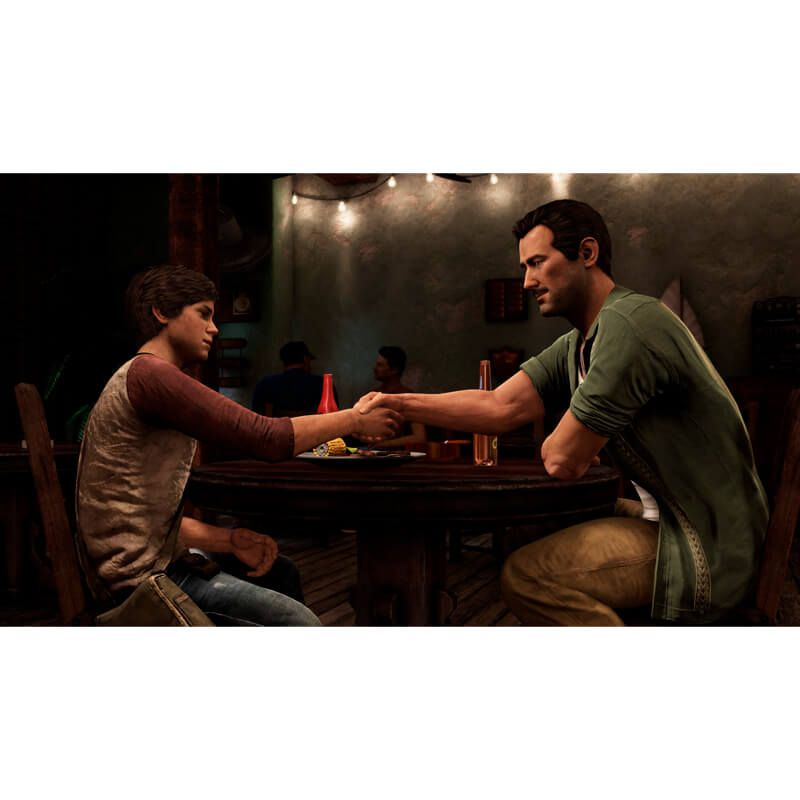 Combo Jogos Uncharted 4: A Thief's End + Uncharted: The Nathan Drake Collection - PS4