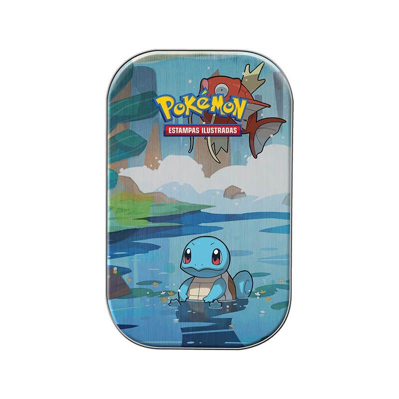 Pokémon TCG: Mini Lata Amigos de Kanto - Squirtle