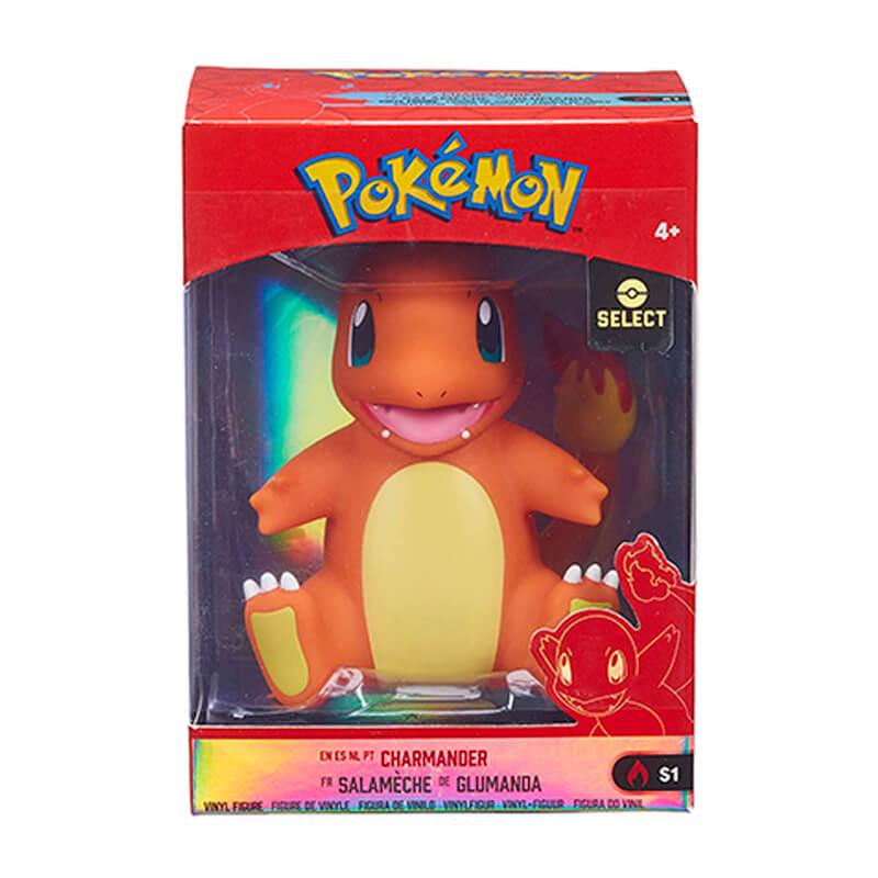 "Figura Pokémon Select Charmander #S1 em Vinilo 4"" | Jazwares"