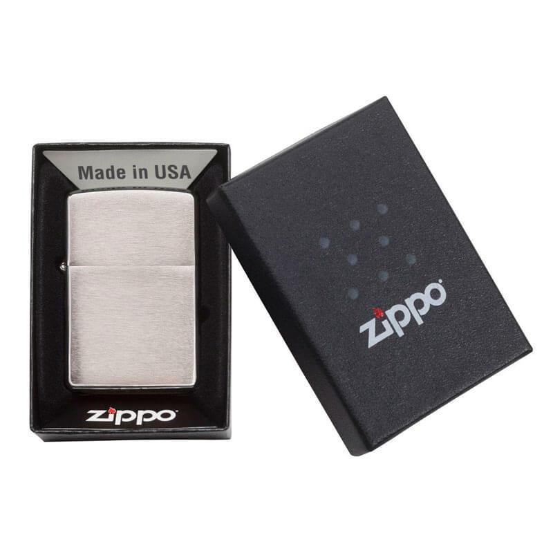 Isqueiro Zippo 200 Classic Cromado Escovado