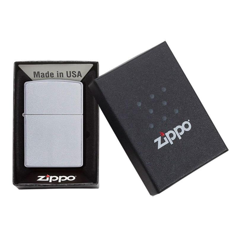 Isqueiro Zippo 205 Classic Cromado Satin
