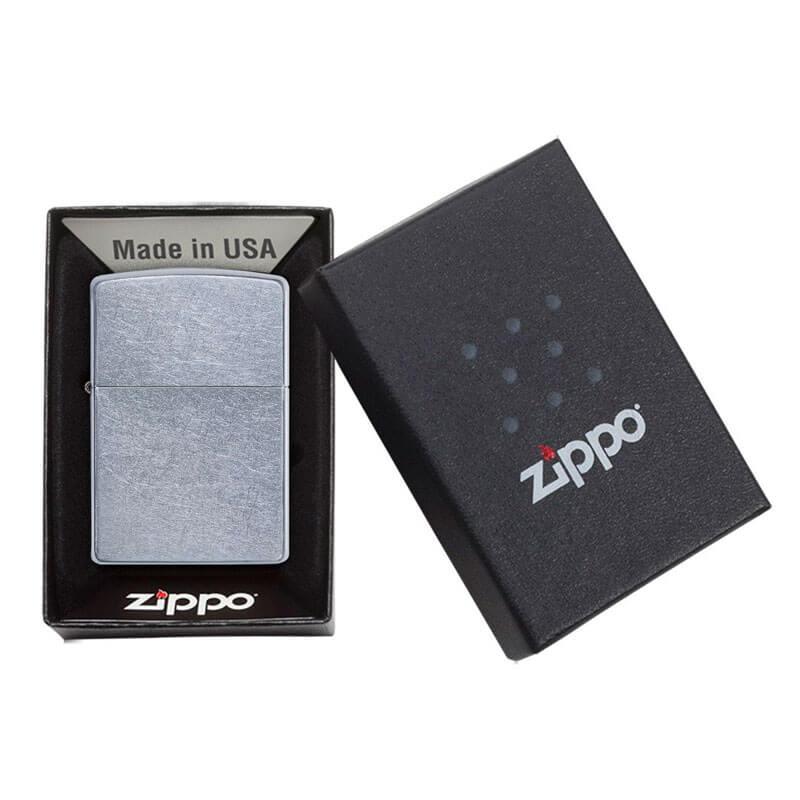 Isqueiro Zippo 207 Classic Street Chrome™