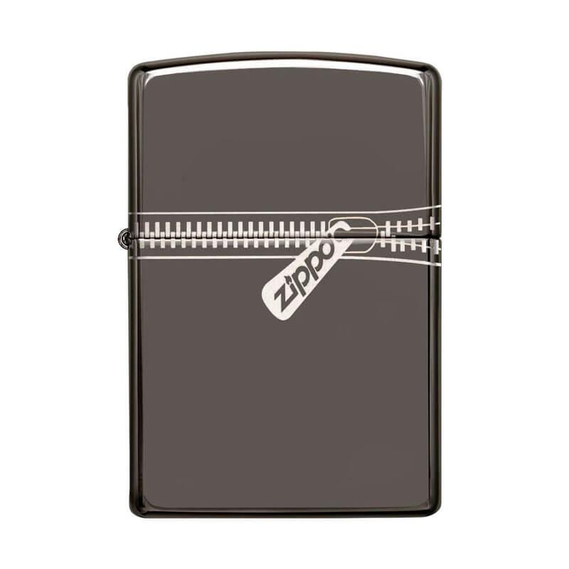Isqueiro Zippo 21088 Classic Zipped Black Ice®