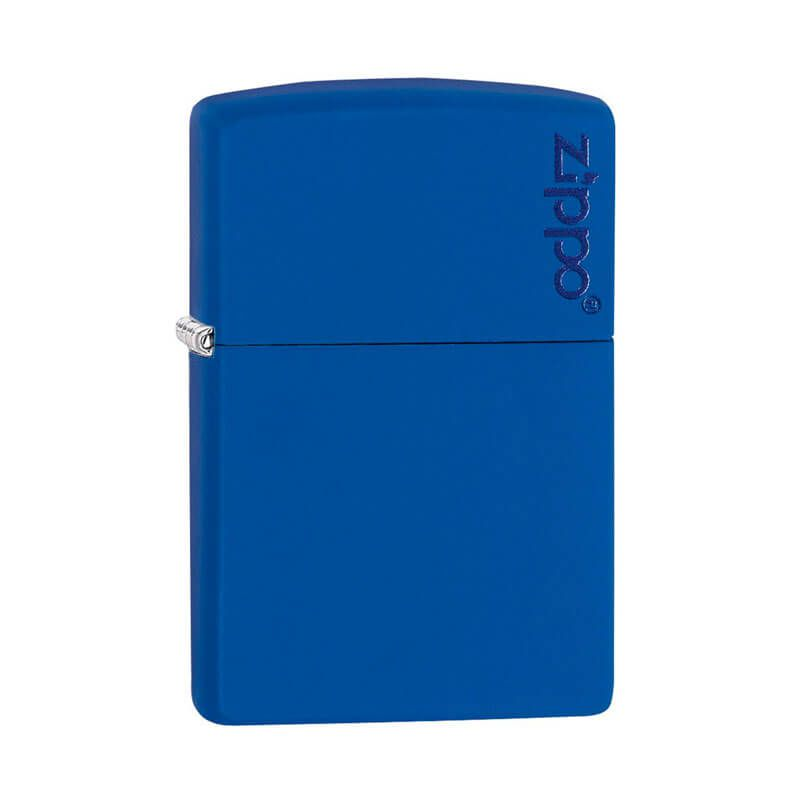 Isqueiro Zippo 229ZL Classic Zippo Logo Azul Royal Fosco