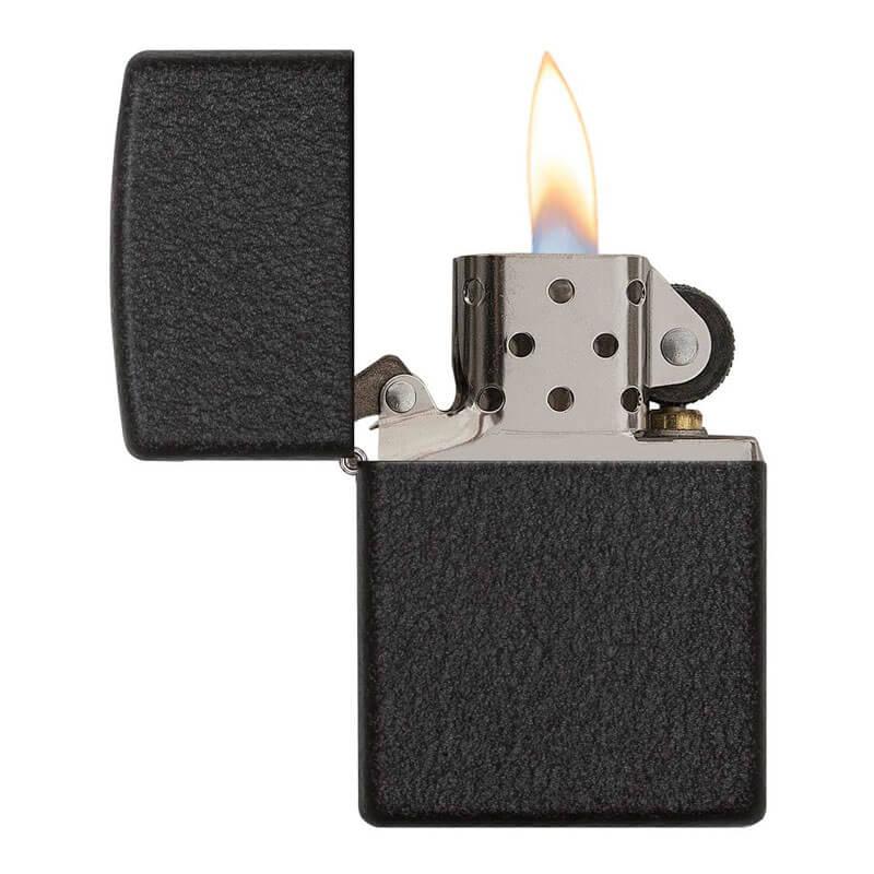 Isqueiro Zippo 236 Classic Black Crackle™
