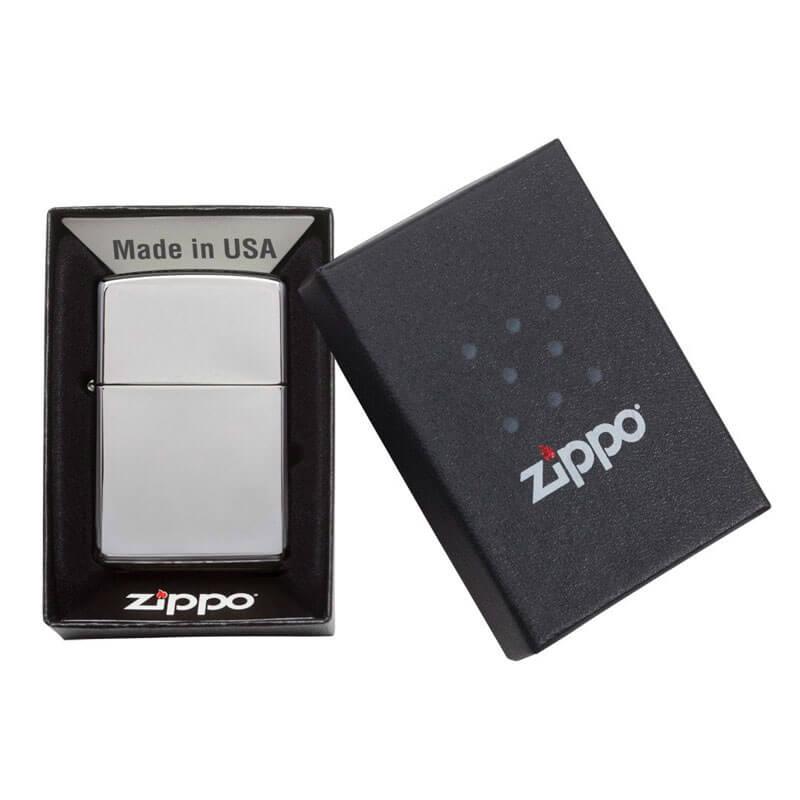 Isqueiro Zippo 250 Classic Cromado Polido