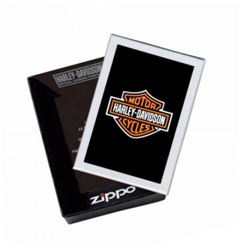 Isqueiro Zippo 29157 Classic Harley-Davidson® Black Flames Street