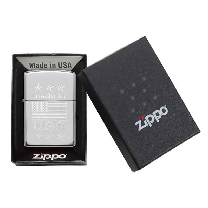 Isqueiro Zippo 29430 Classic Cromado Made in USA Polido
