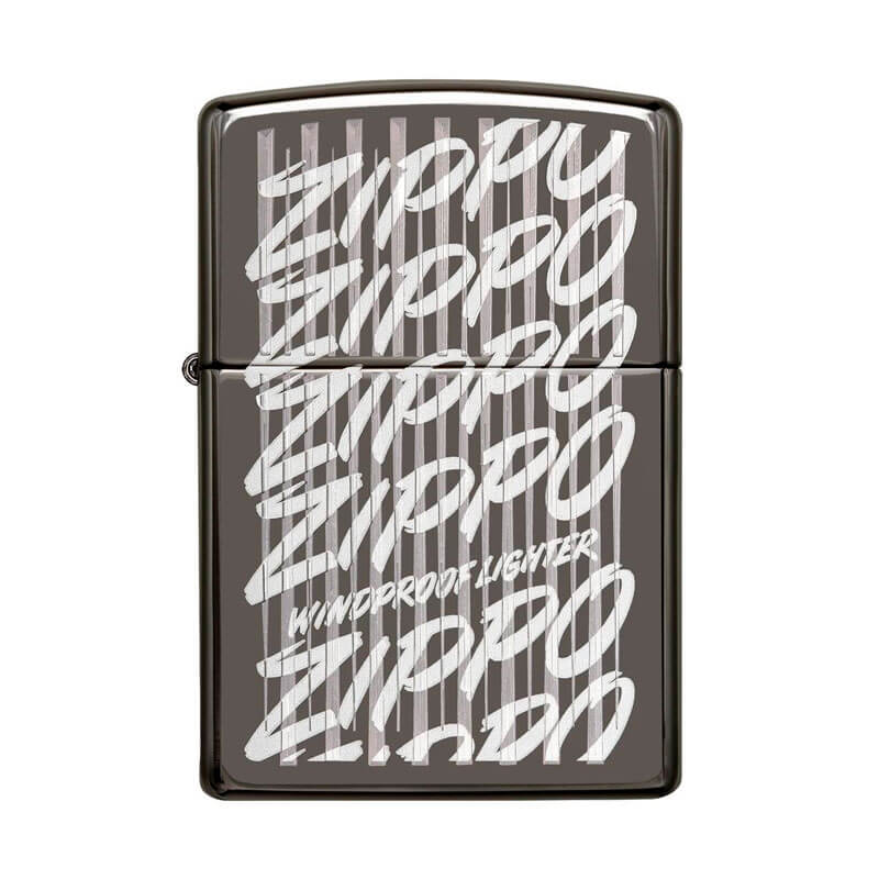 Isqueiro Zippo 29631 Classic Zippo Script Black Ice®