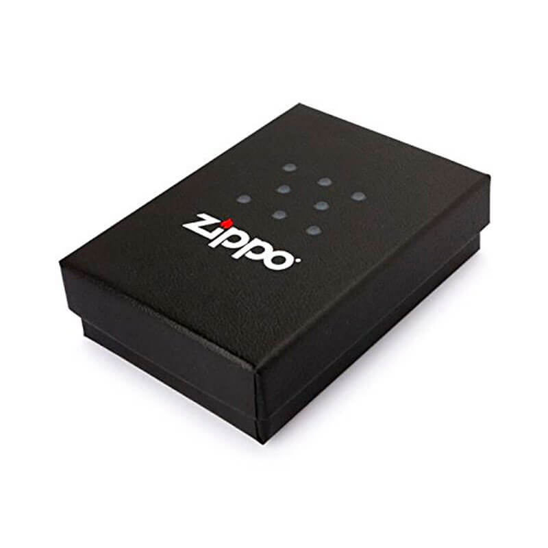 Isqueiro Zippo 29689 Classic Zippo Logo Dots Branco Fosco