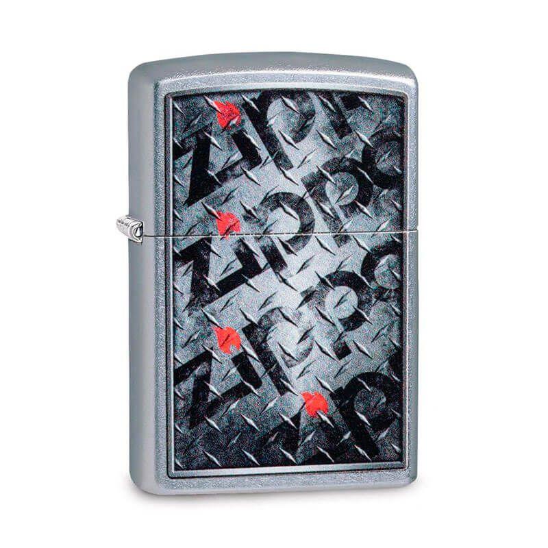 Isqueiro Zippo 29838 Classic Diamond Plate Street