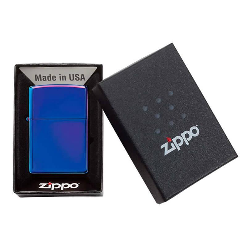 Isqueiro Zippo 29899 Classic Indigo Polido