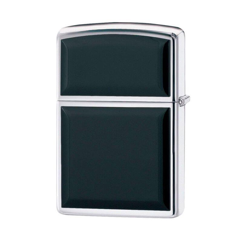 Isqueiro Zippo 355 Classic Cromado Black Ultralite® Polido