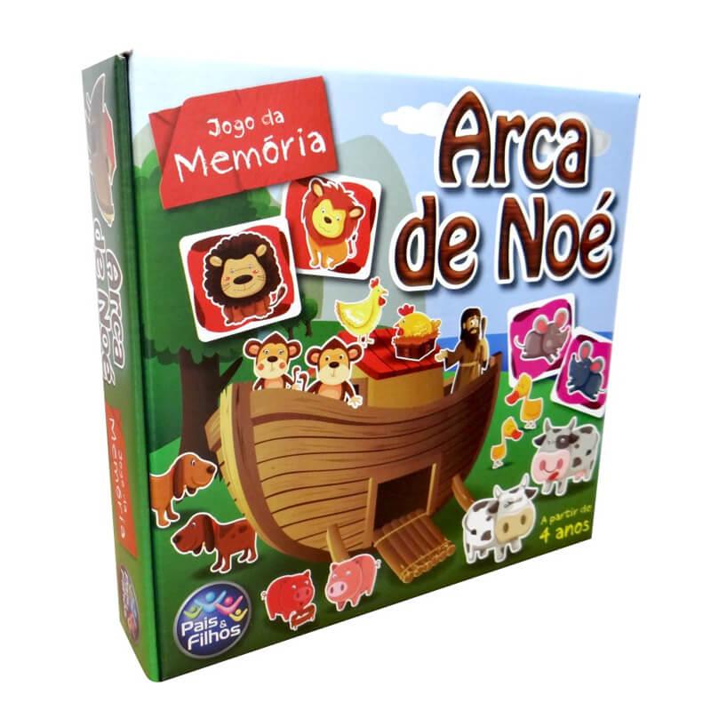 Jogo da Memória - Arca de Noé | Pais & Filhos
