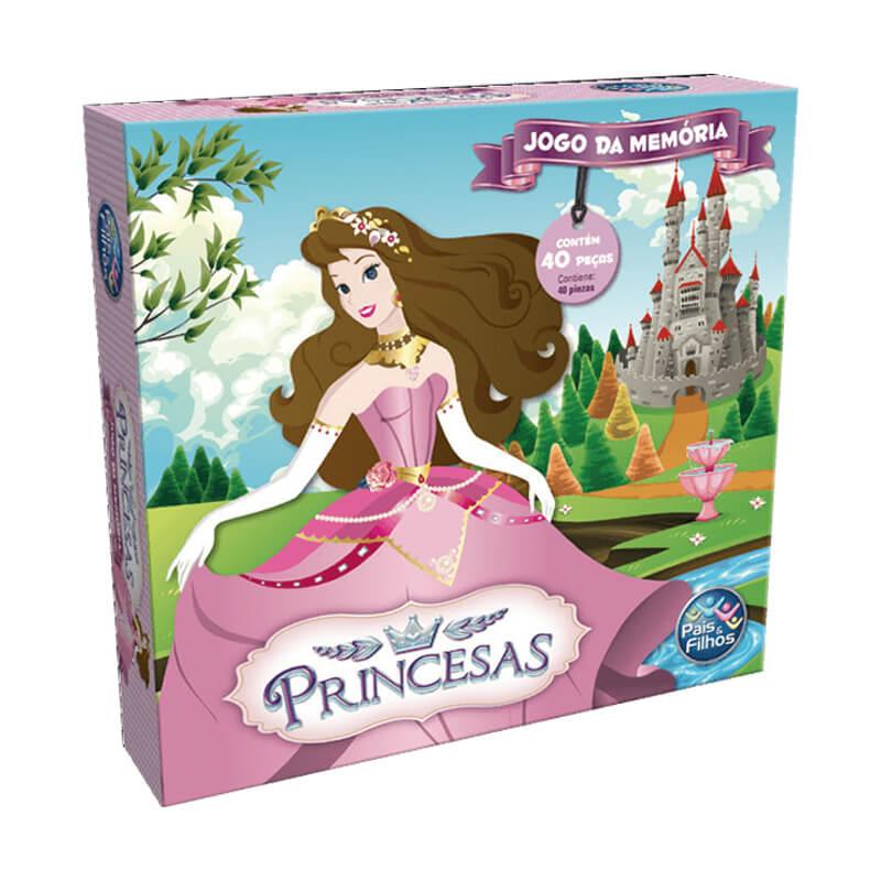 Jogo da Memória - Princesas | Pais & Filhos