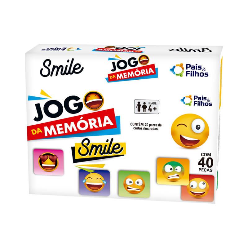Jogo da Memória - Smile | Pais & Filhos