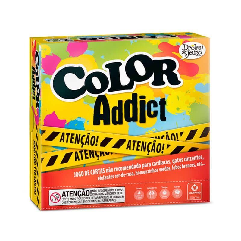 Jogo de Cartas Color Addict - Droles de Jeux COPAG