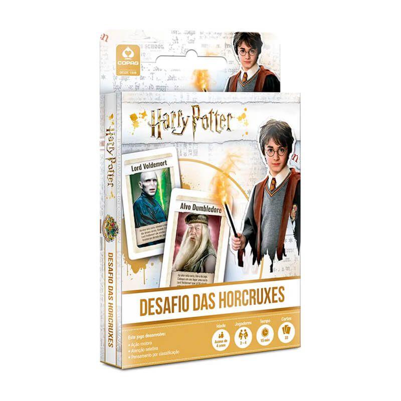 Jogo de Cartas Harry Potter: Desafio das Horcruxes - COPAG