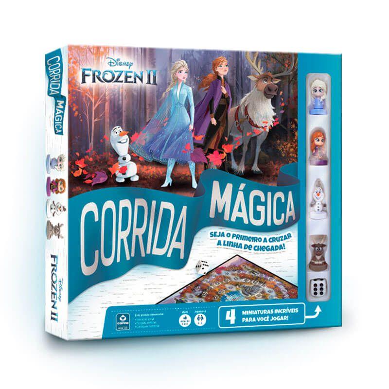 Jogo de Tabuleiro Corrida Mágica Disney Frozen II - COPAG